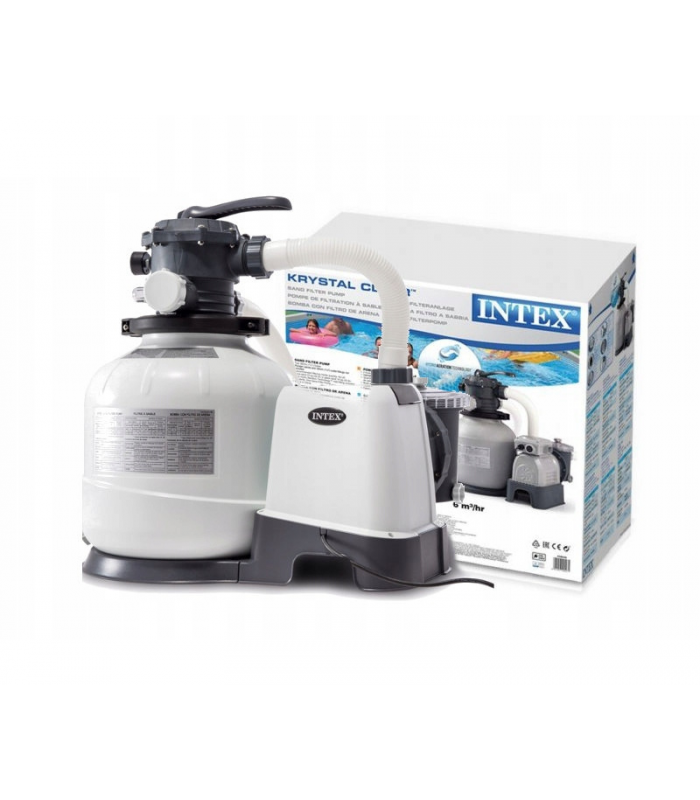 Песочный фильтрующий насос Intex Krystal Clear 8000 л/ч 26646