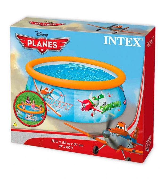 Бассейн Intex Самолеты 28102NP 183х51 см!