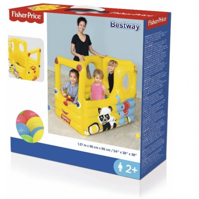 Игровой центр BestWay Fisher Price Школьный автобус 93506 BW