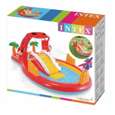 Игровой центр Intex Счастливый Дино 57160 259х165 см!