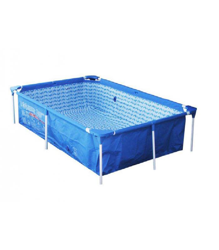 Каркасный бассейн BestWay 56040 221х150х43 см!