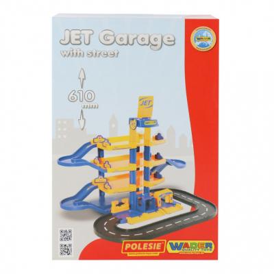Полесье Jet 4-уровневый с дорогой 40220 800х560х610MM!