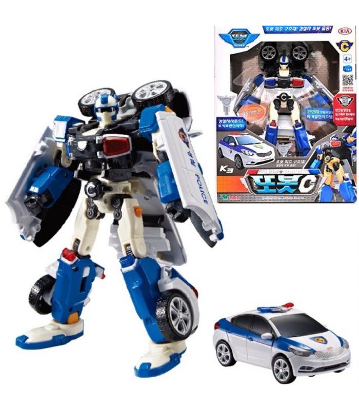 Робот Young Toys Tobot Полиция C 301014