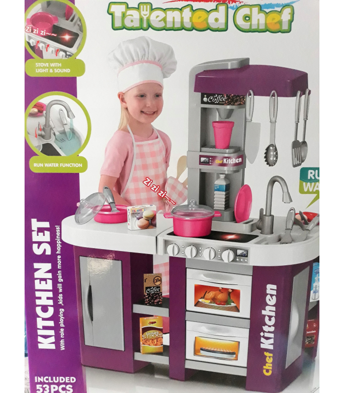 KITCHEN SET 922-43 КУХНЯ ЗВУК, СВЕТ! 72 х 61 х 33 см!