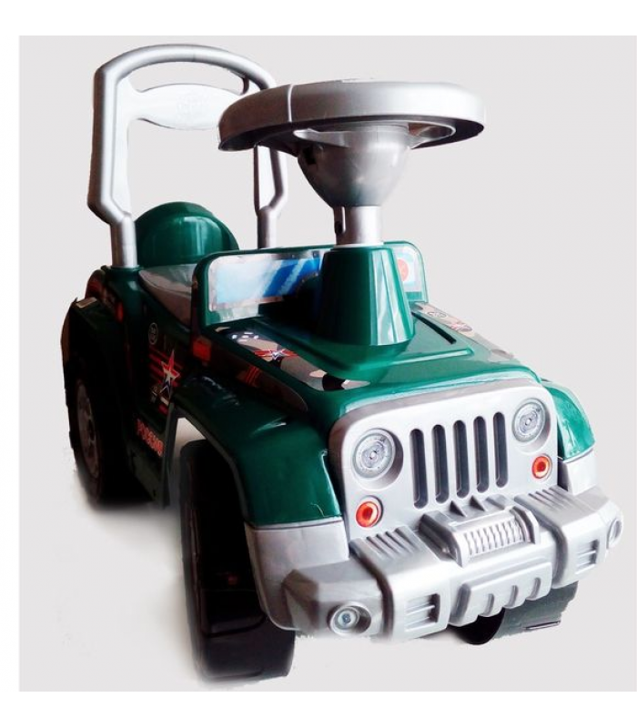Каталка Orion Toys Супер Сафари Армейский ОР549 65х48х28СМ!