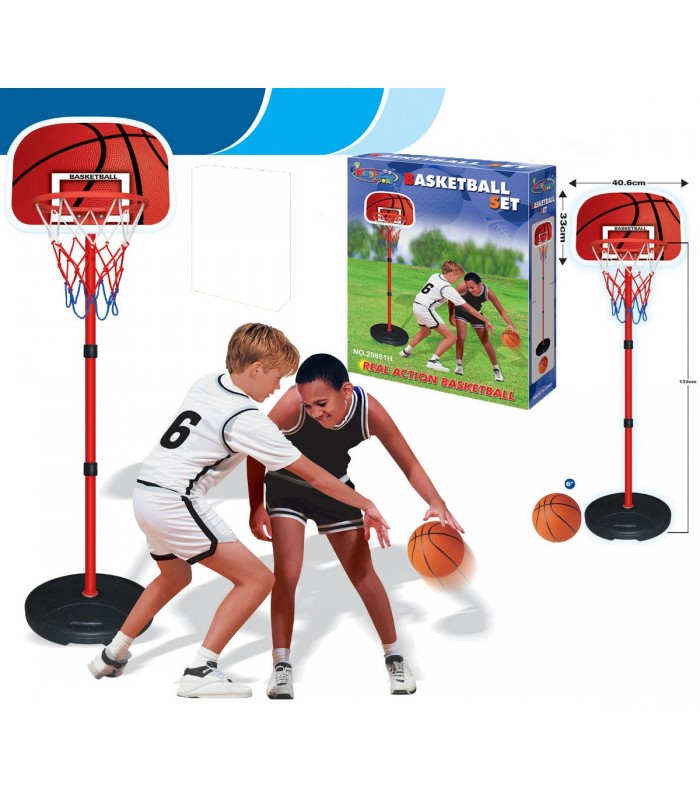 Баскетбольное кольцо King Sport 20881H на стойке 160 см