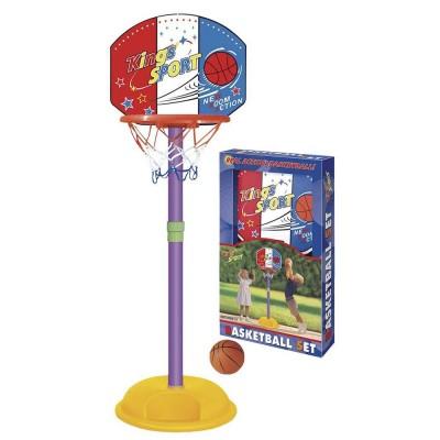 Баскетбольное кольцо King Sport 20881/1 на стойке 130 см