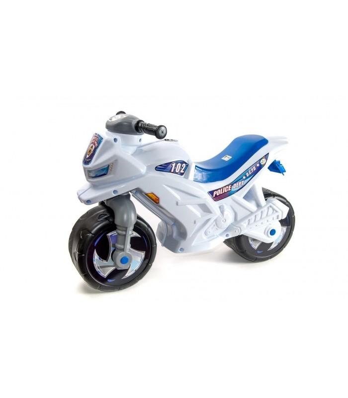 Каталка-мотоцикл (белый)