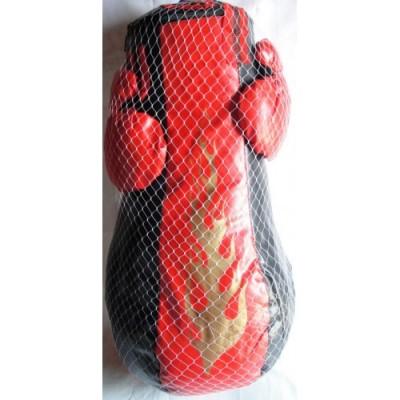 Боксерская груша и перчатки 58 см