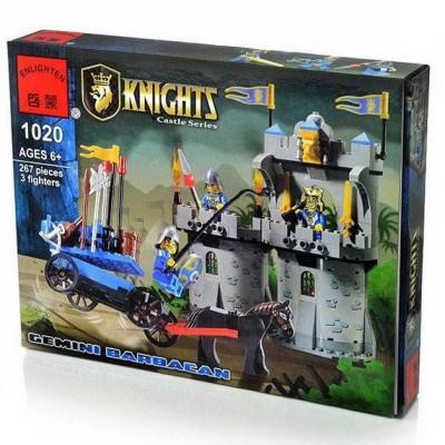 Конструктор Brick 1020 Рыцарская башня (267 деталей)