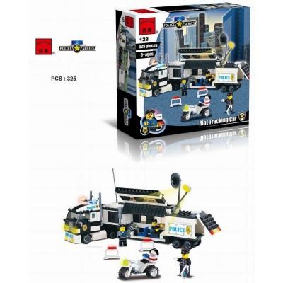 Конструктор Brick 128 Полицейский фургон (325 деталей)