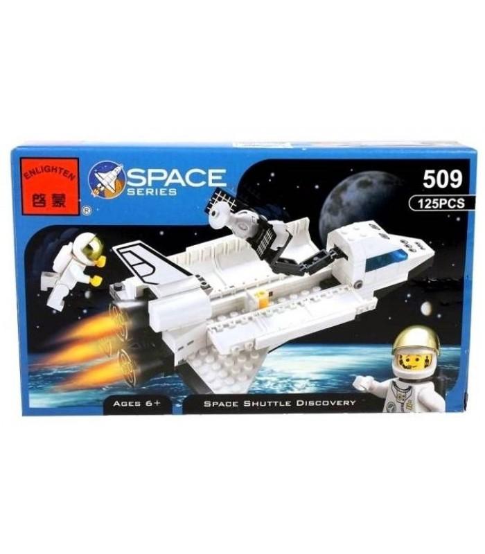 Конструктор Brick 509 Космический корабль (125 деталей)