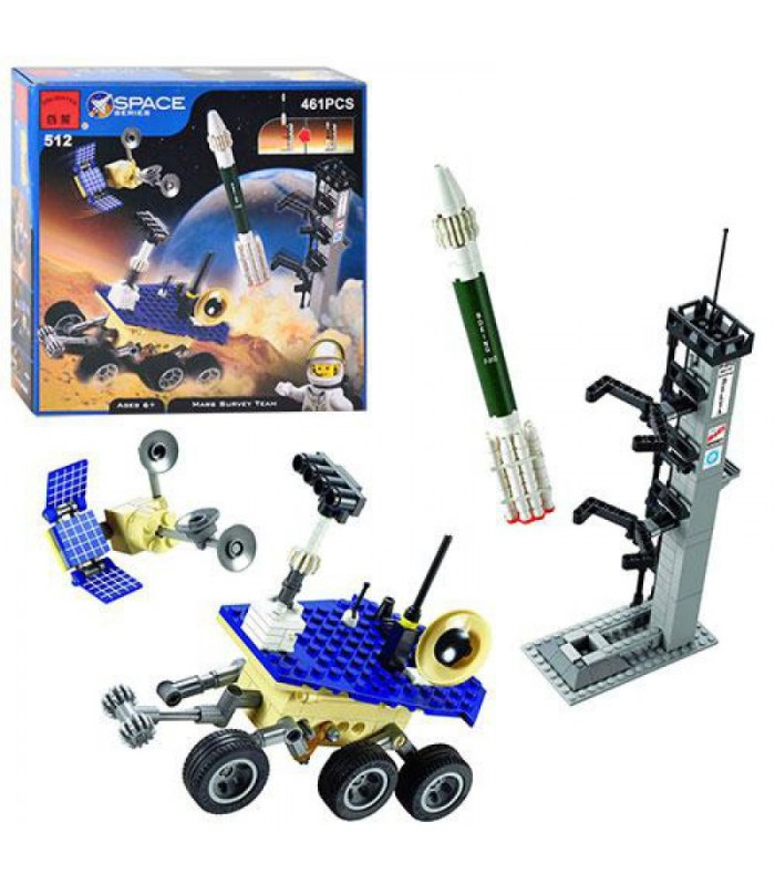 Конструктор Brick 512 Космическая станция (461 деталь)
