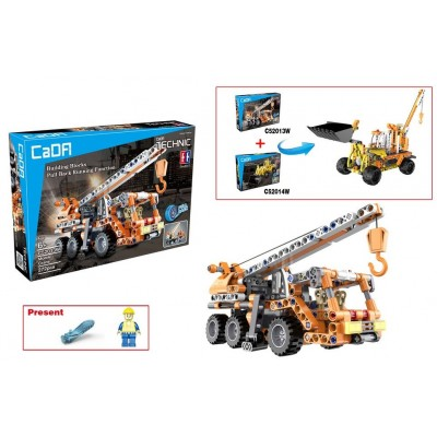 Конструктор Cada C52013W (272 детали)