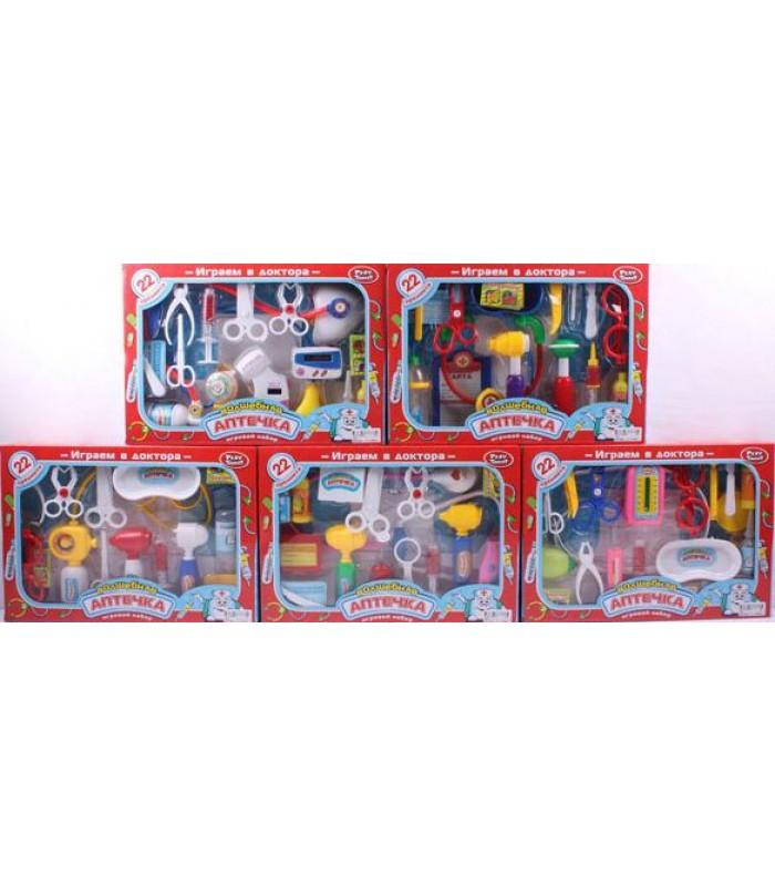 Игровой набор Play Smart Доктор (22 предмета)