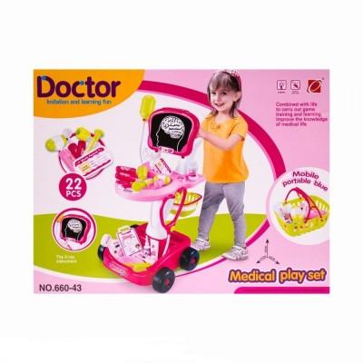Игровой набор Доктор 41x32x60 см (23 предмета, свет/звук)