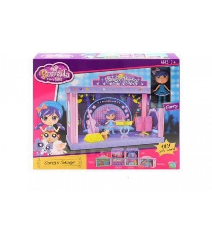 Домик для кукол Barmila 60214 24x12x19 см