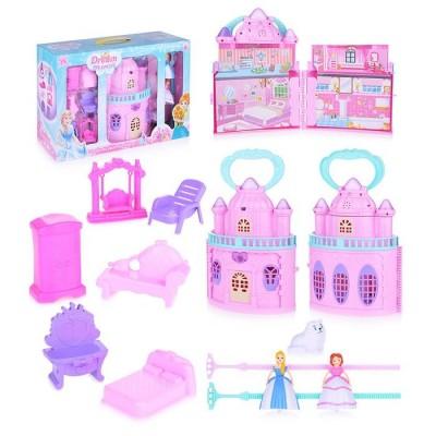 Дом для кукол 42x5x30 см (2 куклы, свет/звук)
