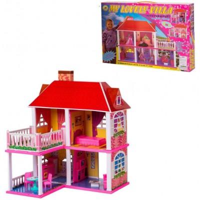 Домик для кукол 25,5x83,5x70 см