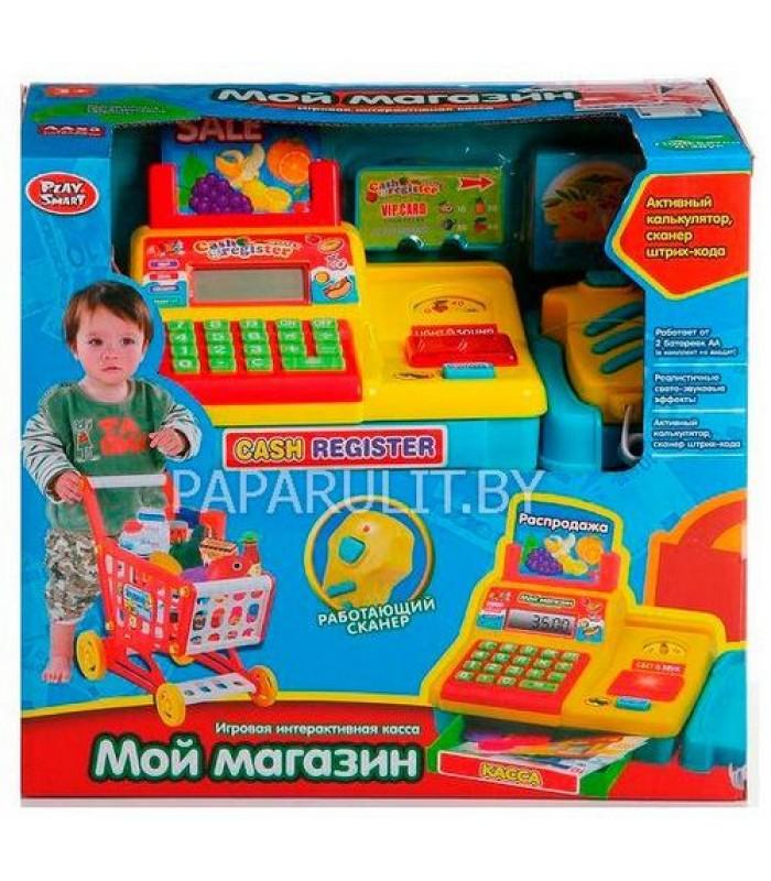 Игровой набор Касса с тележкой 7562