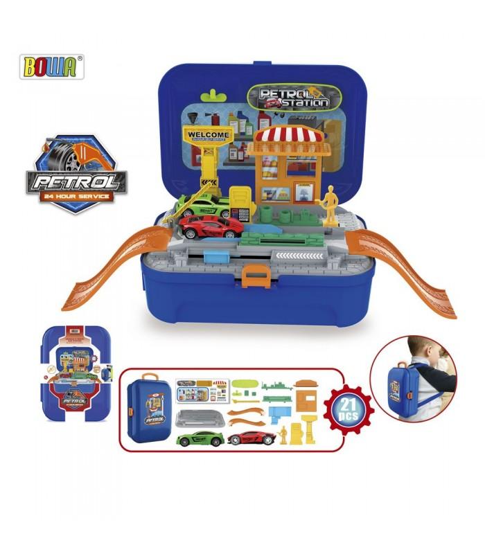 Игровой набор в рюкзаке Заправка