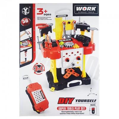 Игровой набор Инструменты 43x26x61 см (56 предметов)