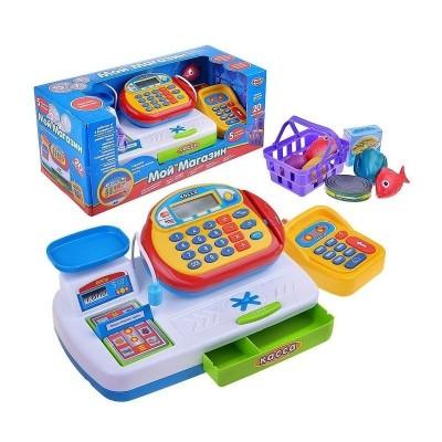 Игровой набор Play Smart Касса (сканер, весы, микрофон, расчет картой)