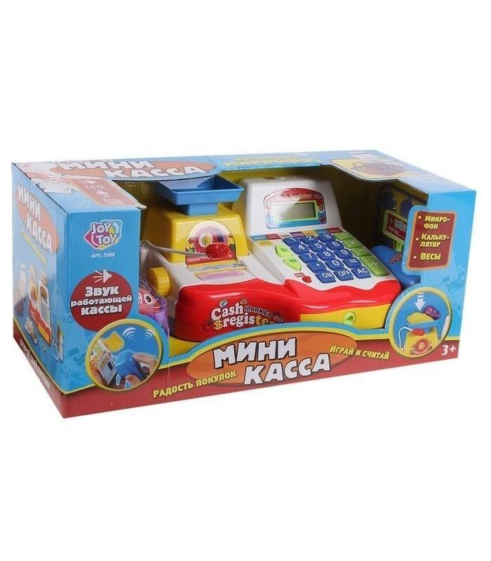 Игровой набор Play Smart 7162 Касса (сканер, чек, весы, микрофон)