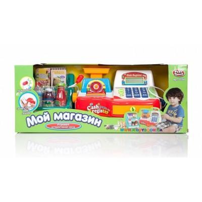Игровой набор Play Smart Касса (сканер, чек, весы, микрофон)