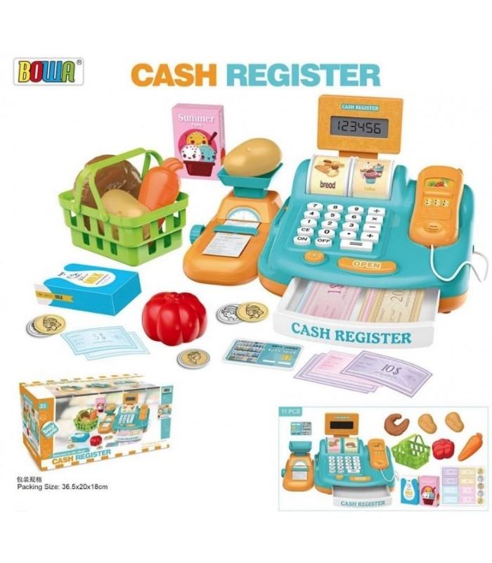 Игровой набор Bowa Касса (сканер, чек, весы, расчет картой)