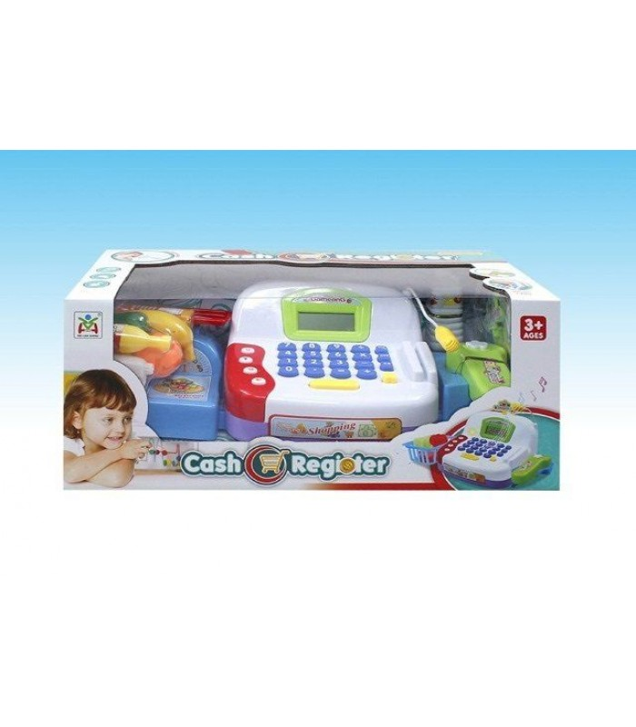 Игровой набор Касса (сканер, весы, микрофон, расчет картой)