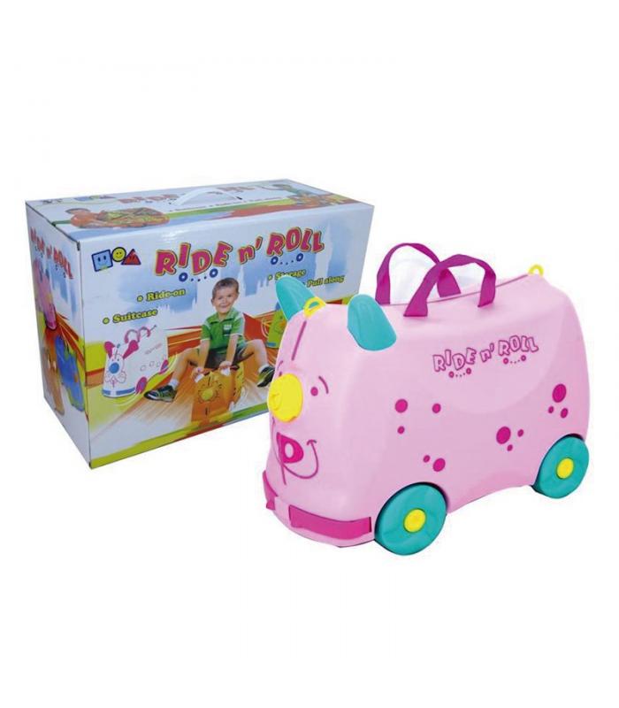Каталка-чемодан для игрушек - 3 цвета