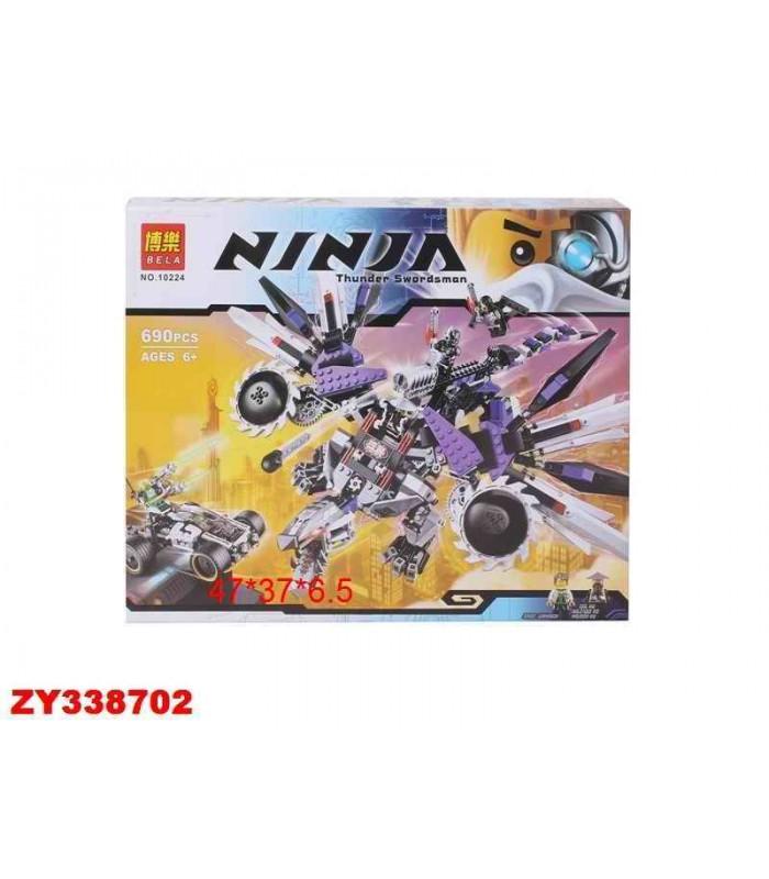 Конструктор Ninja 10224 (690 деталей)