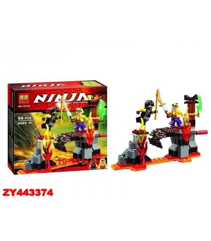 Конструктор Ninja 10316 (94 детали)