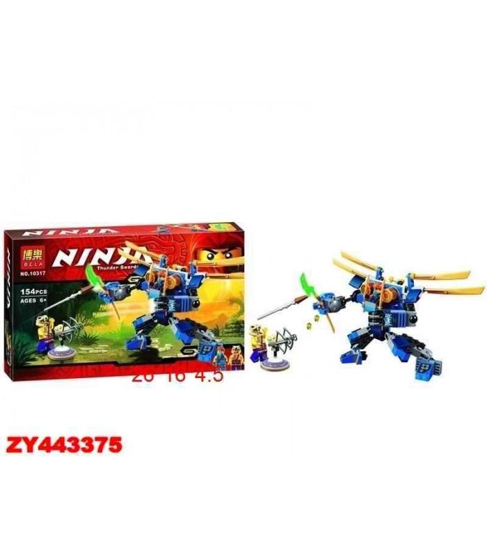Конструктор Ninja 10317 (154 детали)