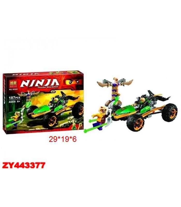 Конструктор Ninja 10320 (187 деталей)