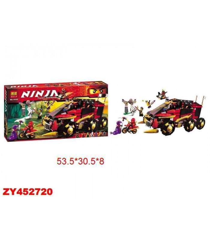 Конструктор Ninja 10325 (788 деталей)