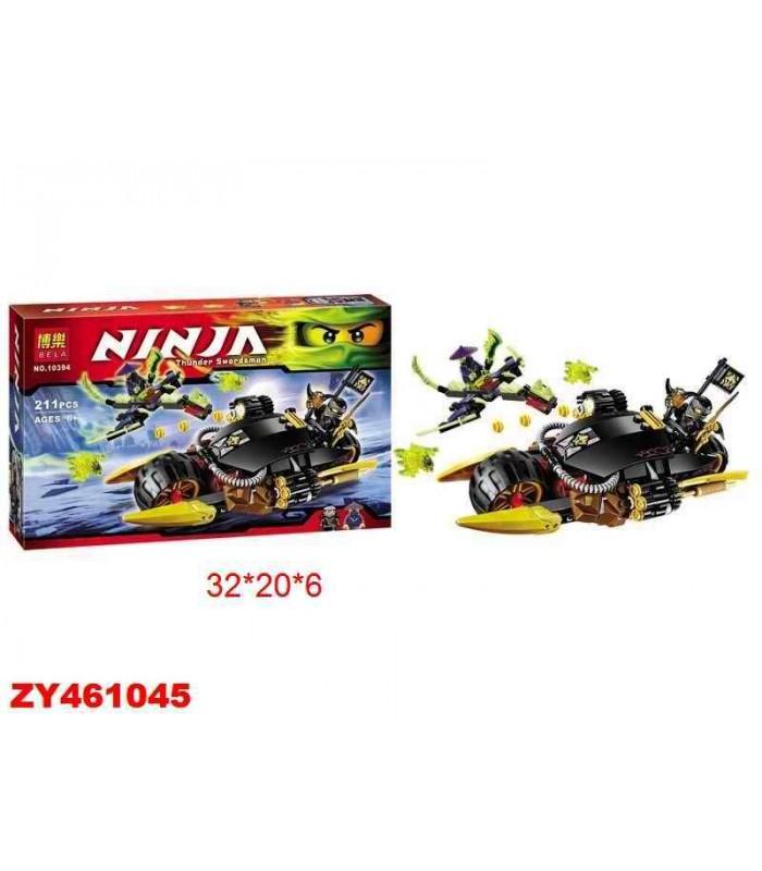 Конструктор Ninja 10394 (211 деталей)