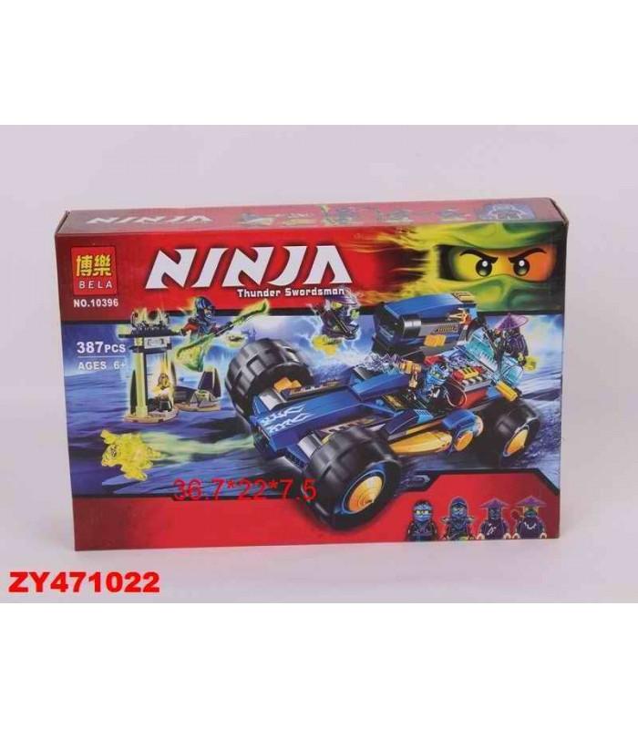 Конструктор Ninja 10396 (387 деталей)