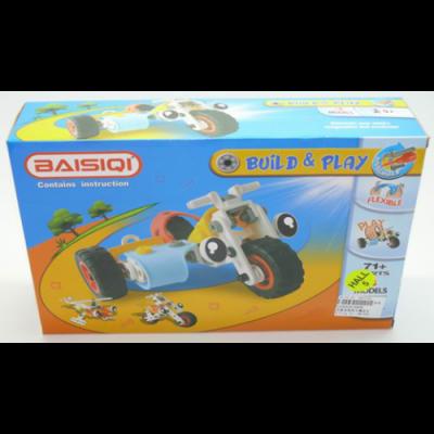 Конструктор Build&Play 6828В Мотоцикл (71 деталь)