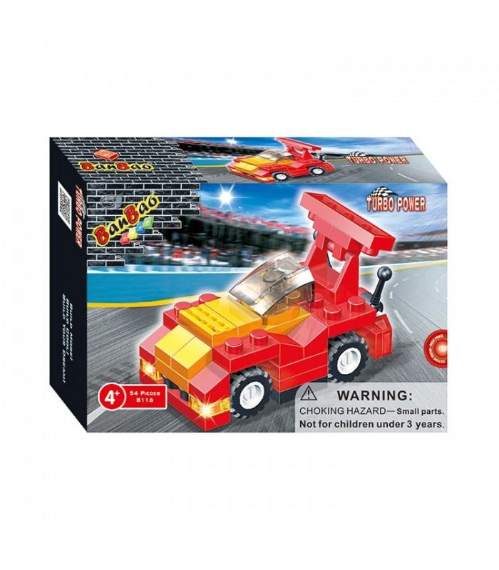 Конструктор Banbao 8116 Спортивная машинка (54 детали)