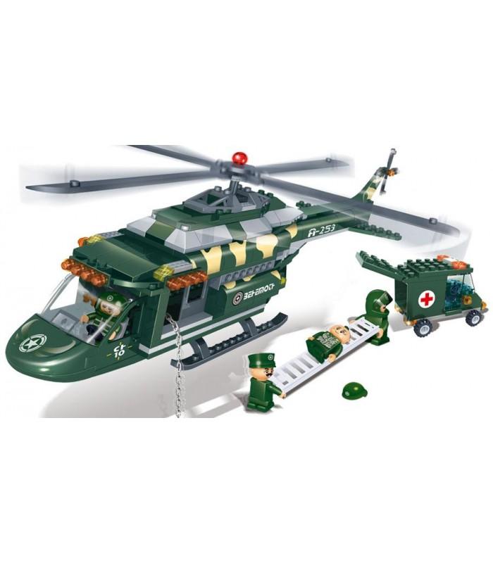 Конструктор Banbao 8253 Вертолет (263 детали)