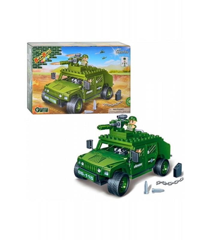 Конструктор Banbao 8842 Военная машина (203 детали)