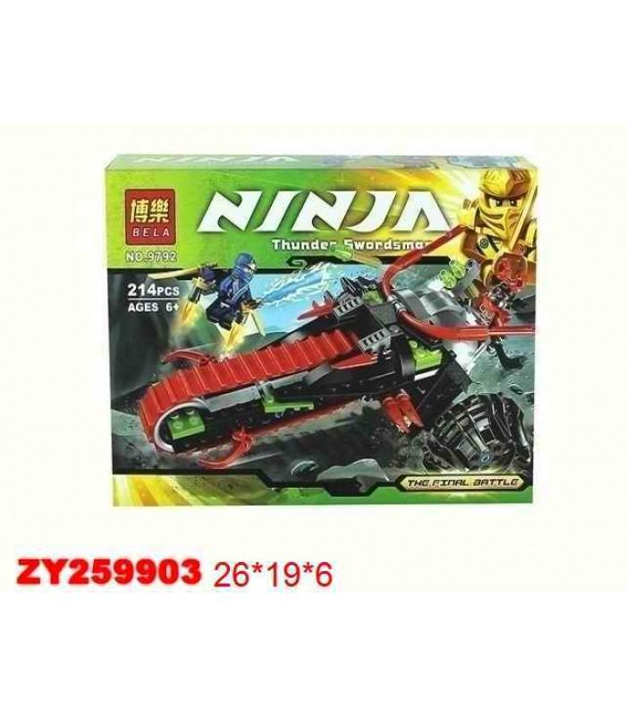Конструктор Ninja 9792 (214 деталей)