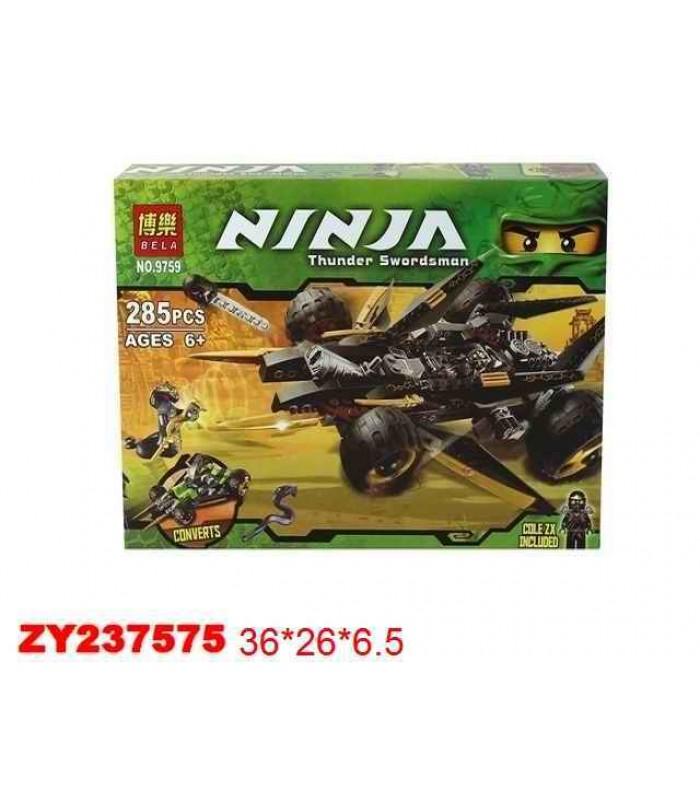 Конструктор Ninja 9759 (285 деталей)