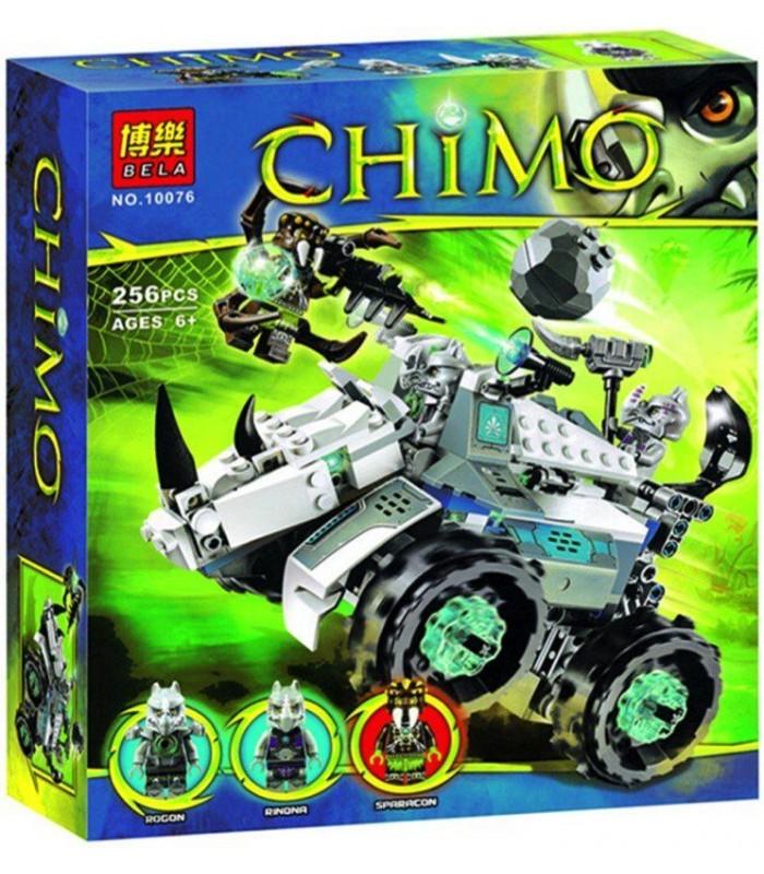 Конструктор Chima 10076 (256 деталей)