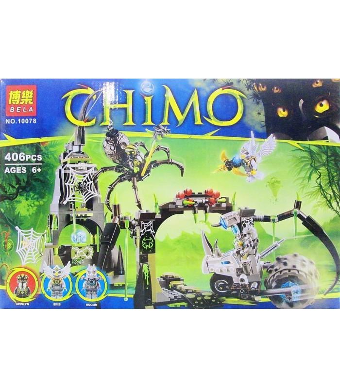 Конструктор Chima 10078 (406 деталей)