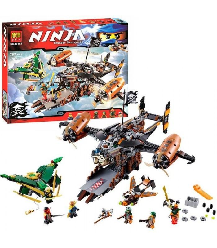 Конструктор Ninja 10462 (757 деталей)
