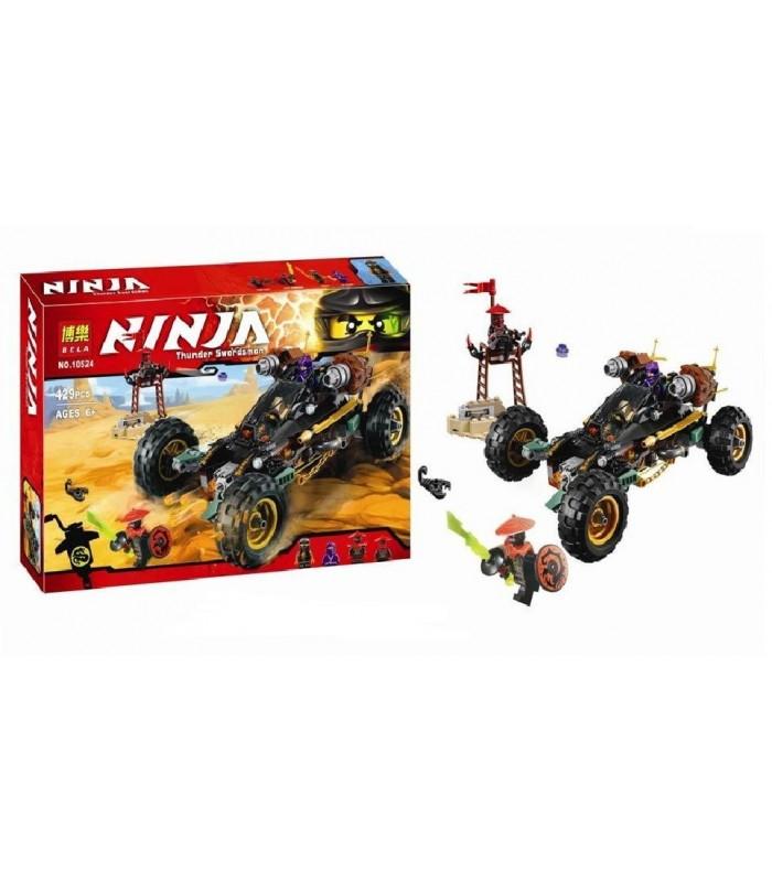 Конструктор Ninja 10524 (429 деталей)