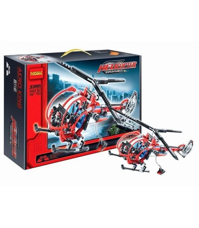 Конструктор Decool 3356 (300 деталей)